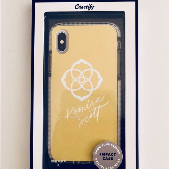 online store c2f1d cfd56 *RARE* Kendra Scott iPhone X Case - Authentic! NWT